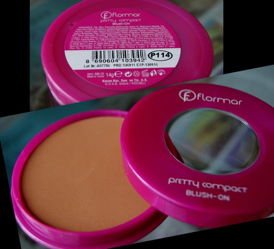 Flormar Pretty Compact Blush P114
