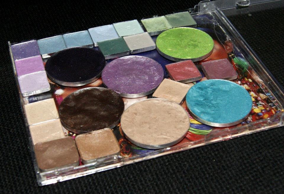 DIY Eyeshadow Palette