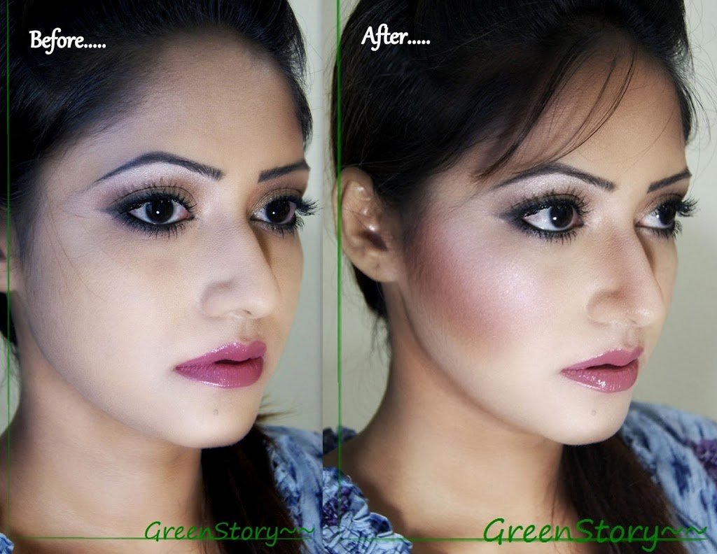 contour and highlight
