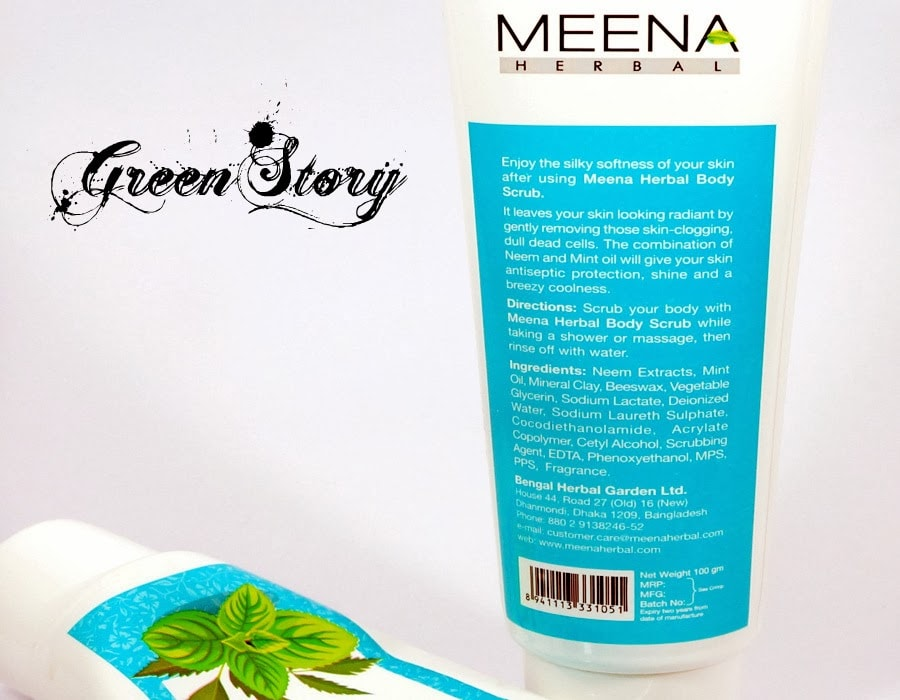 Meena Herbal Body Scrub