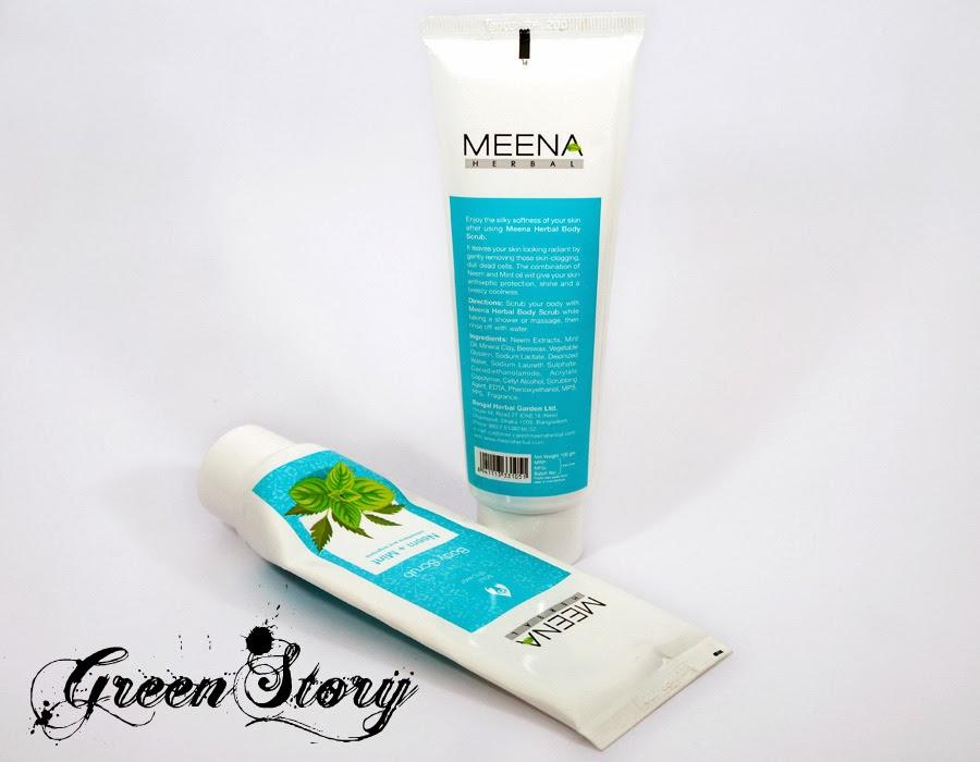 Meena Herbal Body Scrub
