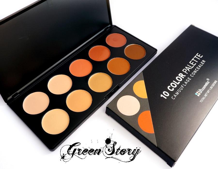 BH Cosmetics Studio Pro Cream Contour Palette