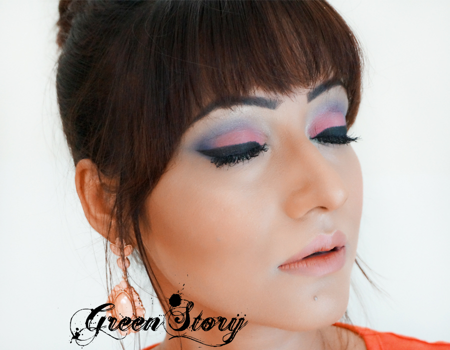 summer party makeup