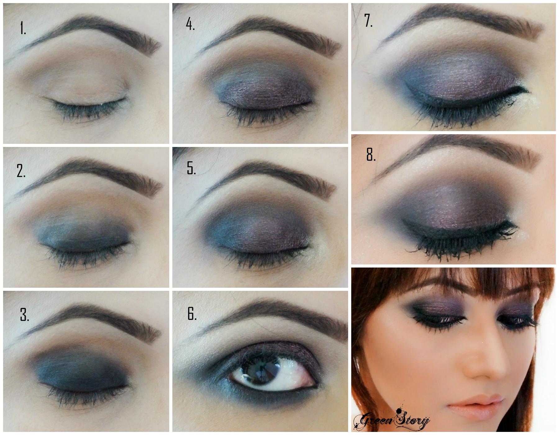 Classic Black and Brown Smokey Eye