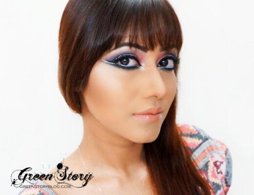 Arabic Style Eye Makeup