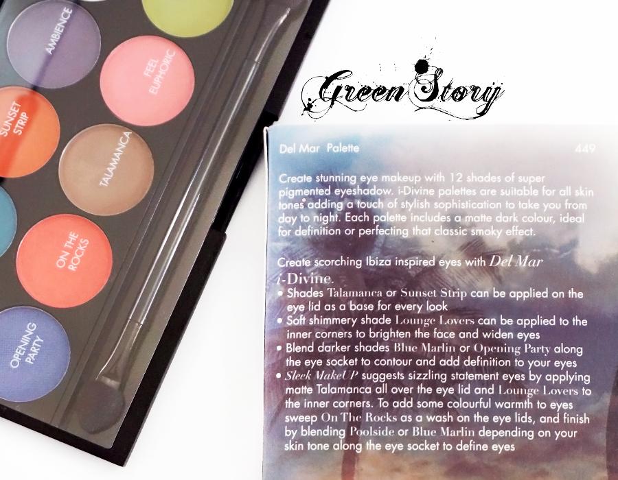 Sleek Delmar Eyeshadow Palette