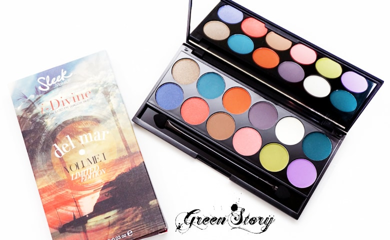 Sleek Delmar Eyeshadow Palette