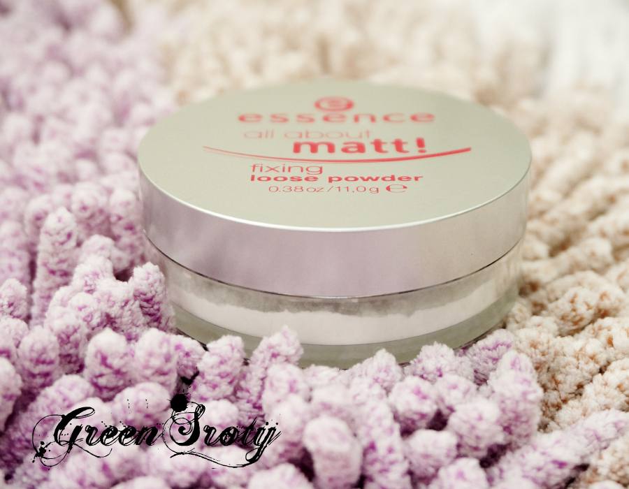 Essence All About Matte Fixing Loose Powder