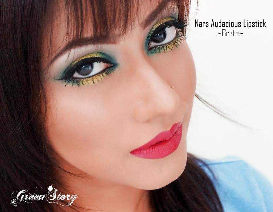 Nars Audacious lipstick Greta