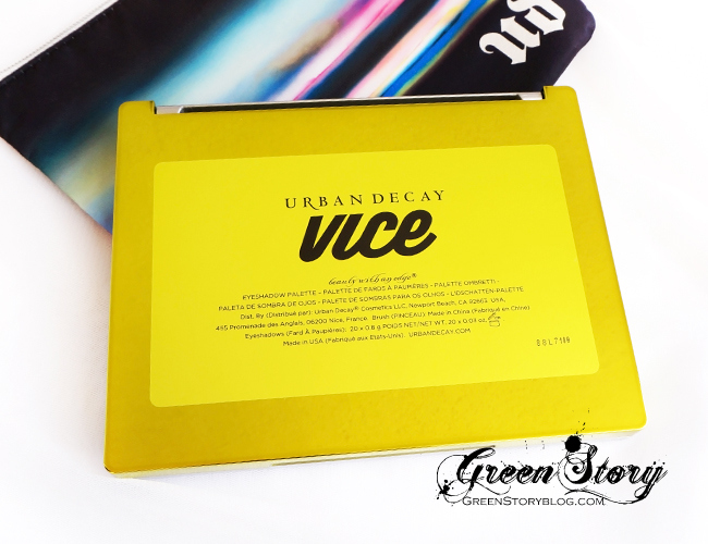 Urban Decay Vice3 Palette