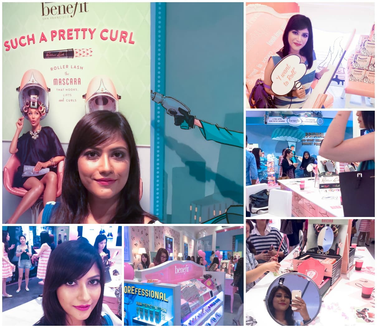 Benefit Rollar Lash mascara launch party