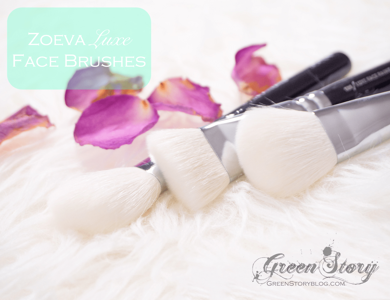 Zoeva Cosmetics luxe face brush