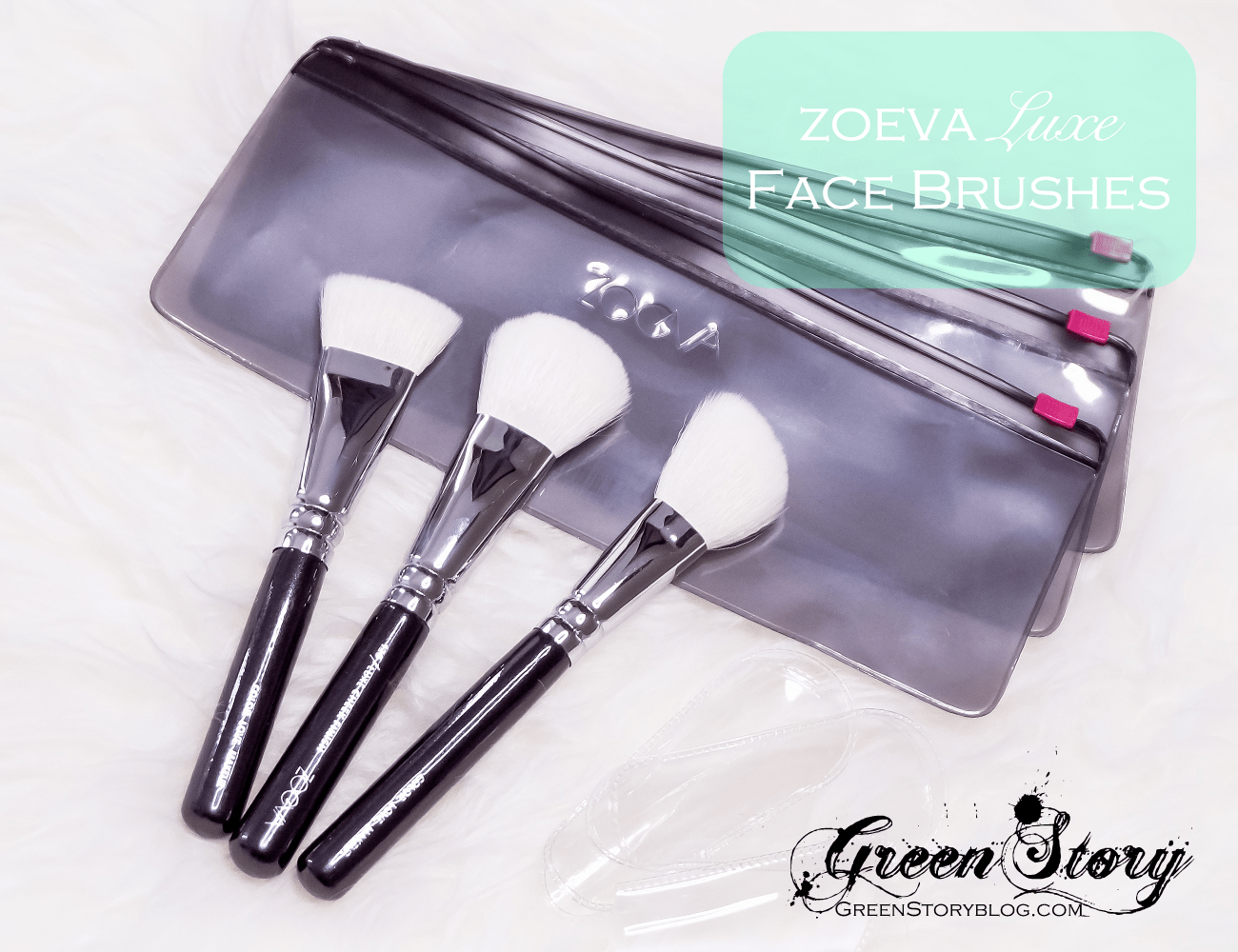 Zoeva luxe face brushes