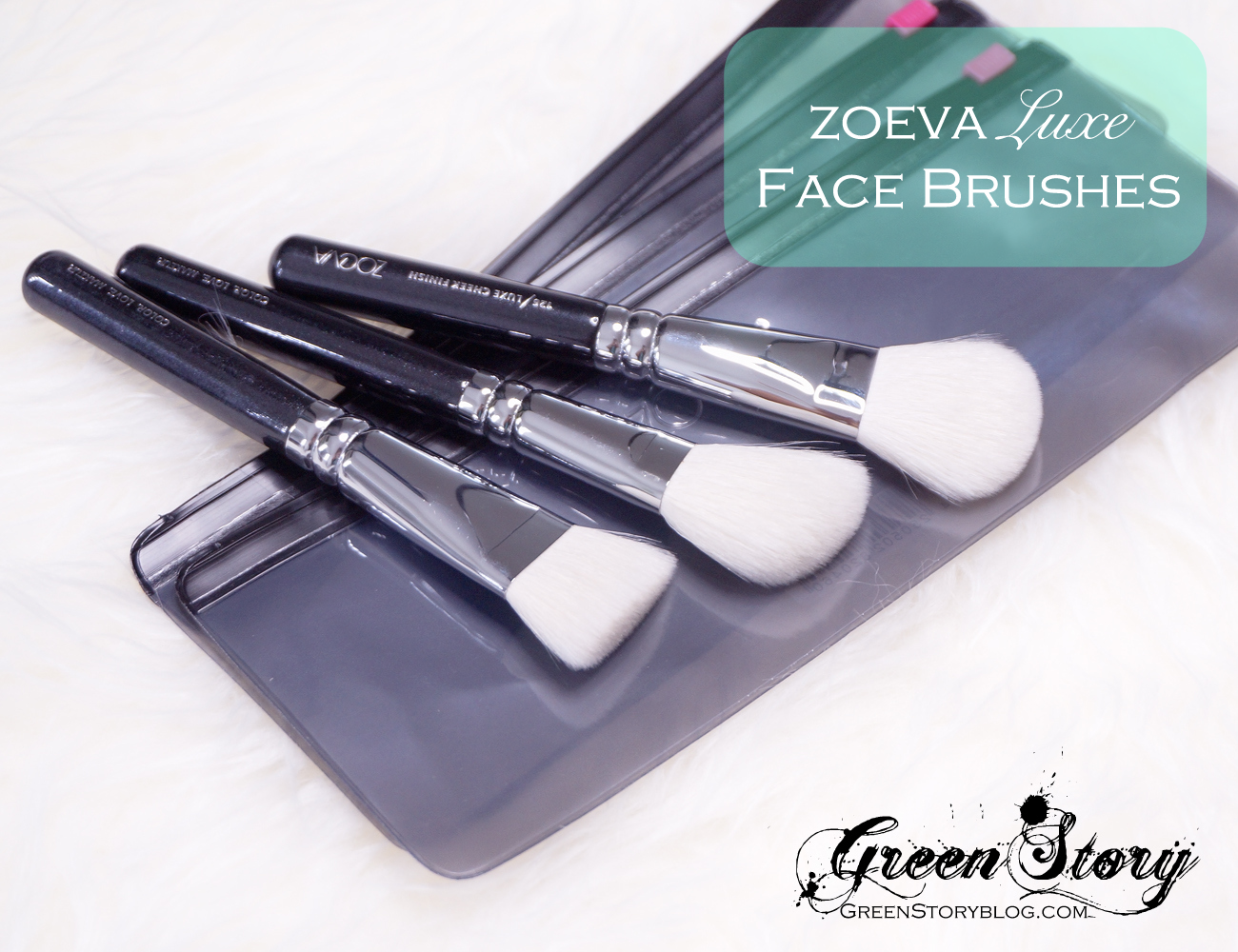 Zoeva luxe face brush