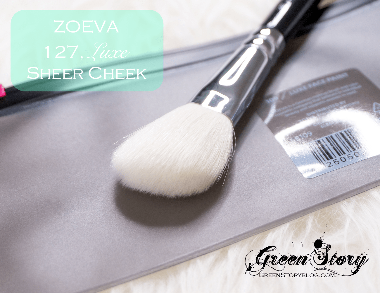 127 Luxe Sheer Cheek Face makeup brush