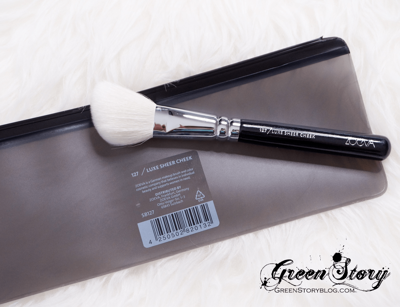 Zoeva Cosmetics Face Brushes - 127 Luxe Sheer Cheek