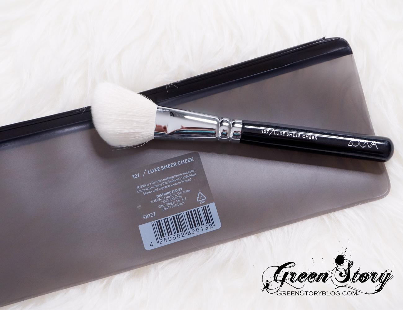 Zoeva Cosmetics Face Brushes - 127 Luxe Sheer Cheek