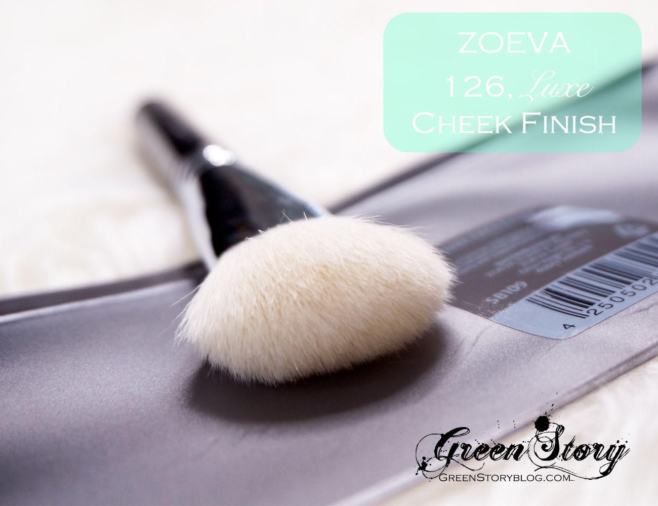 ZoevaCosmetics Face Brushes 126 Luxe Cheek Finish