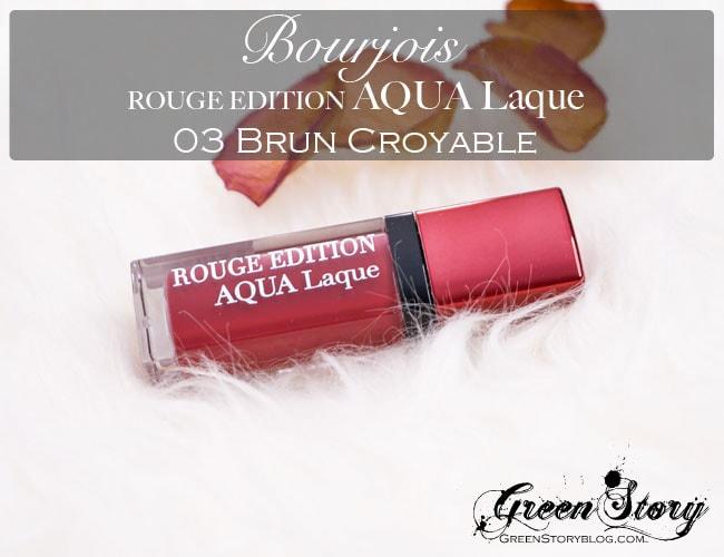 Bourjois Rouge Edition AQUA Laque
