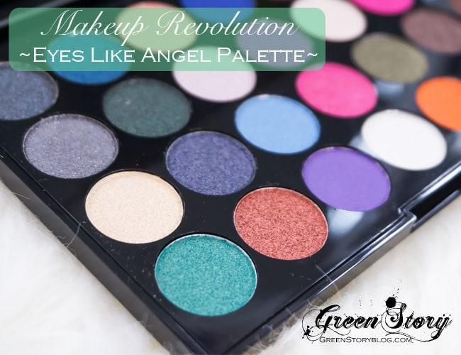 Makeup Revolution Eyes Like Angel Palette