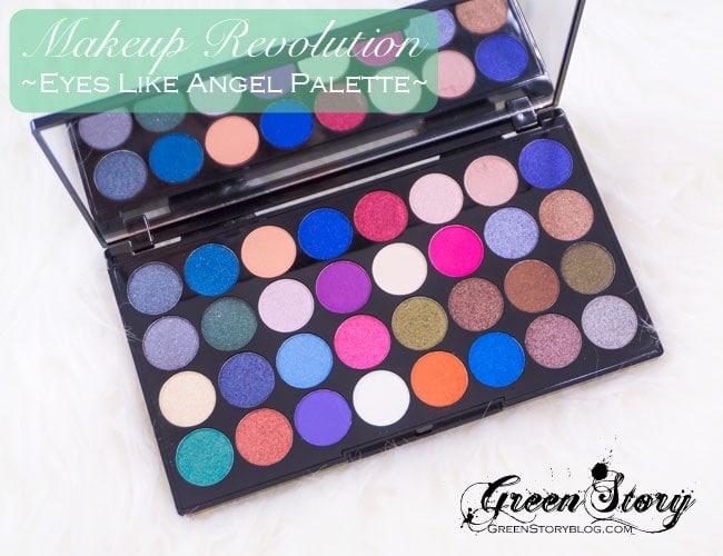 Makeup Revolution EyesLikeAngel5