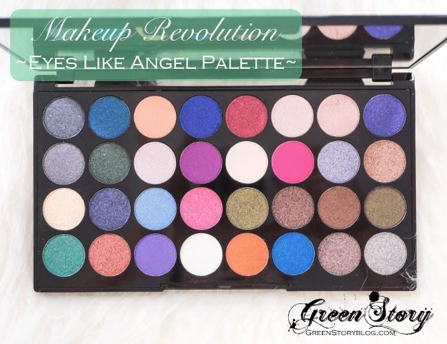 Makeup Revolution EyesLikeAngel6