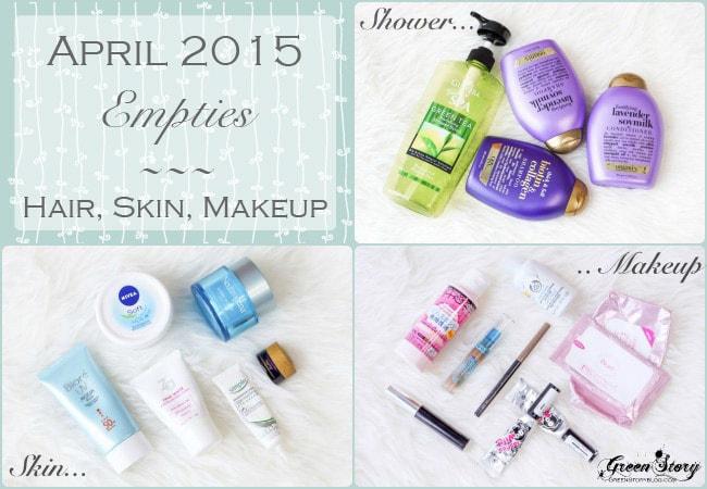 April'15 Empties