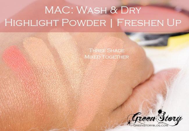 MAC Wash n Dry Highlight Powder