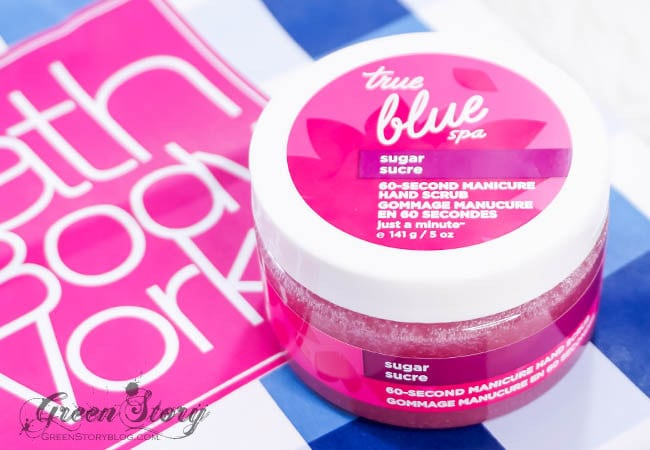 Bath and Body Works True Blue Spa Hand Scrub