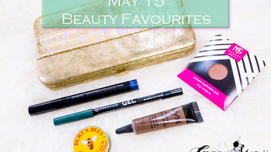 Beauty Favourites May'15