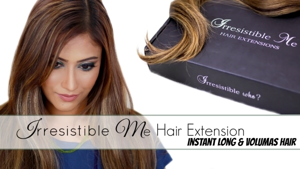 Irresistible me hairextension fe