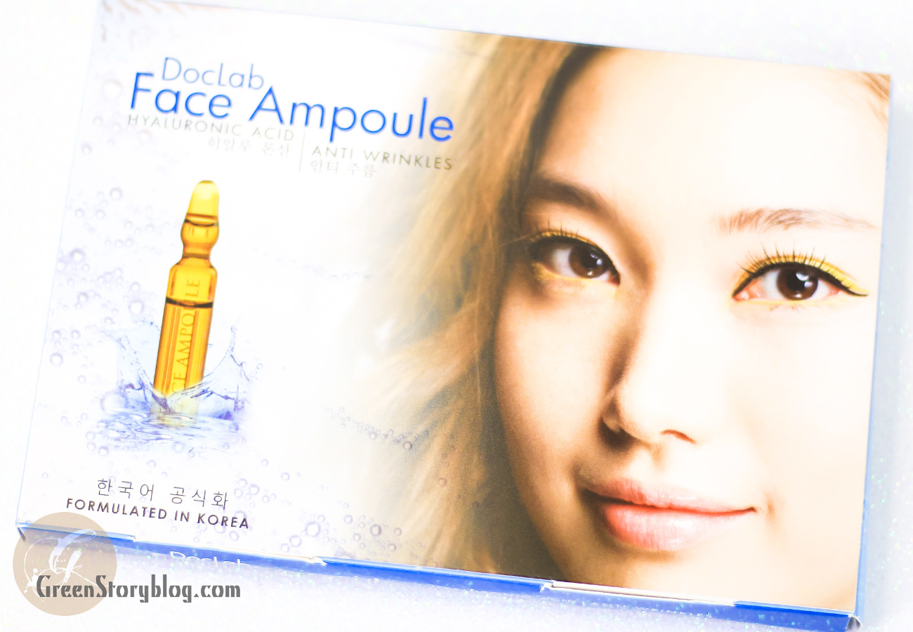 Doclab Face Ampoule Splash Of Hyaluronic Acid For Skin