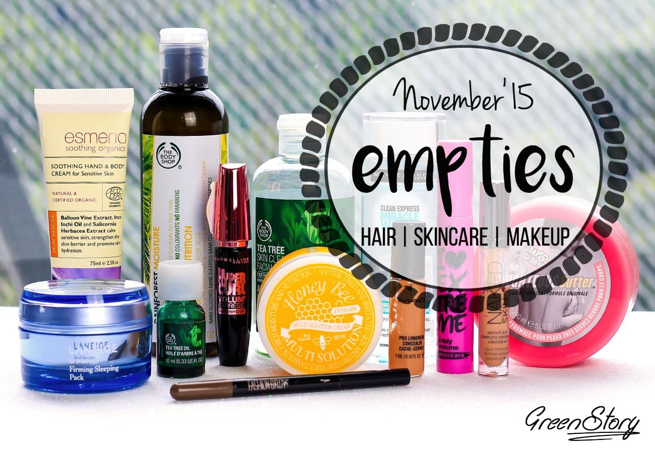 Beauty Empties and Thoughs