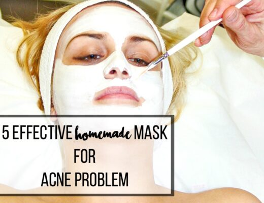 home made masks for acne