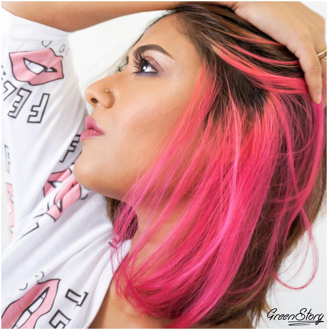 Hair Color Idea   Pink
