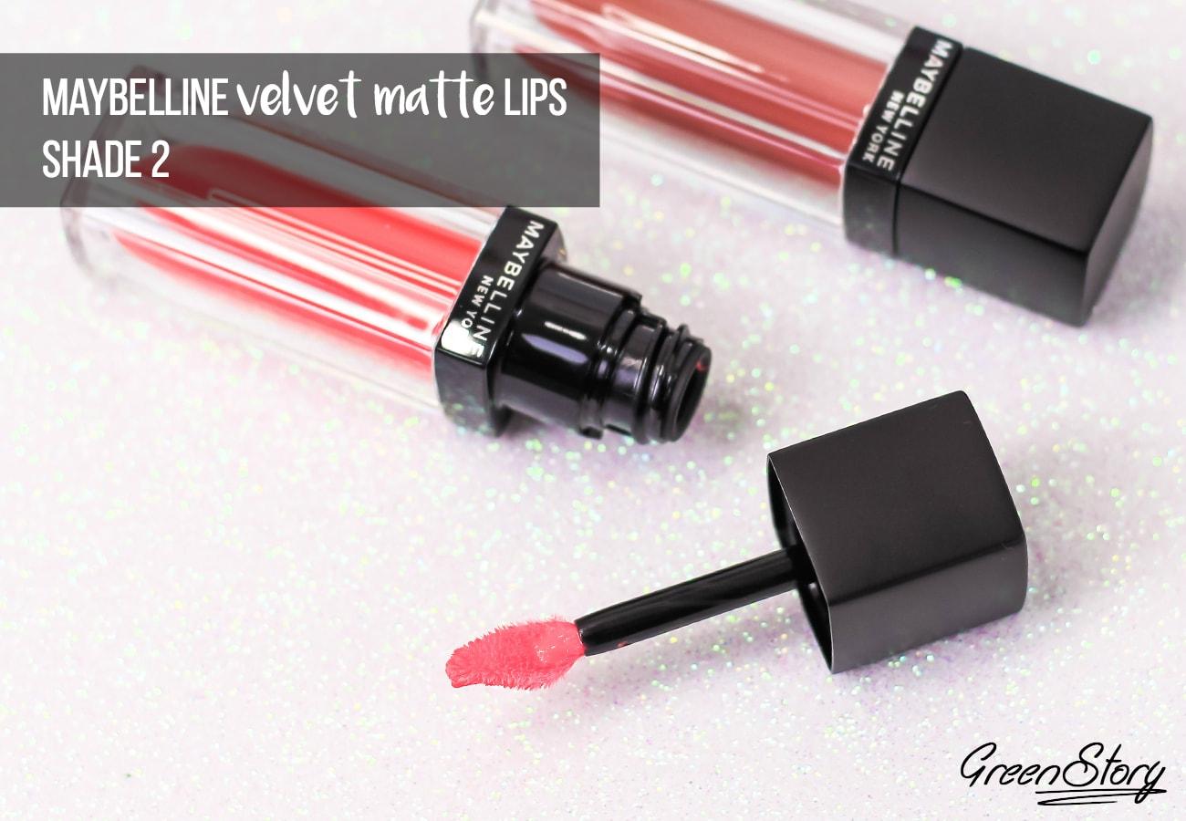 Maybelline Velvet Matte Liquid Lipstick