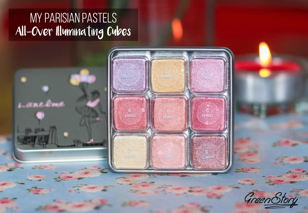 My Parisian Pastels Illuminating Cubes