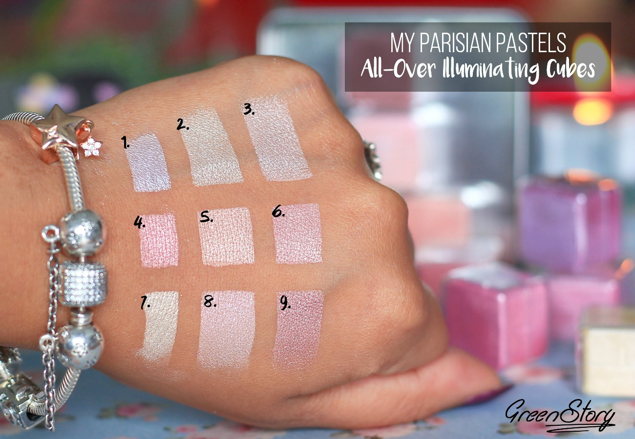 Lancome My Parisian Pastel Swatch