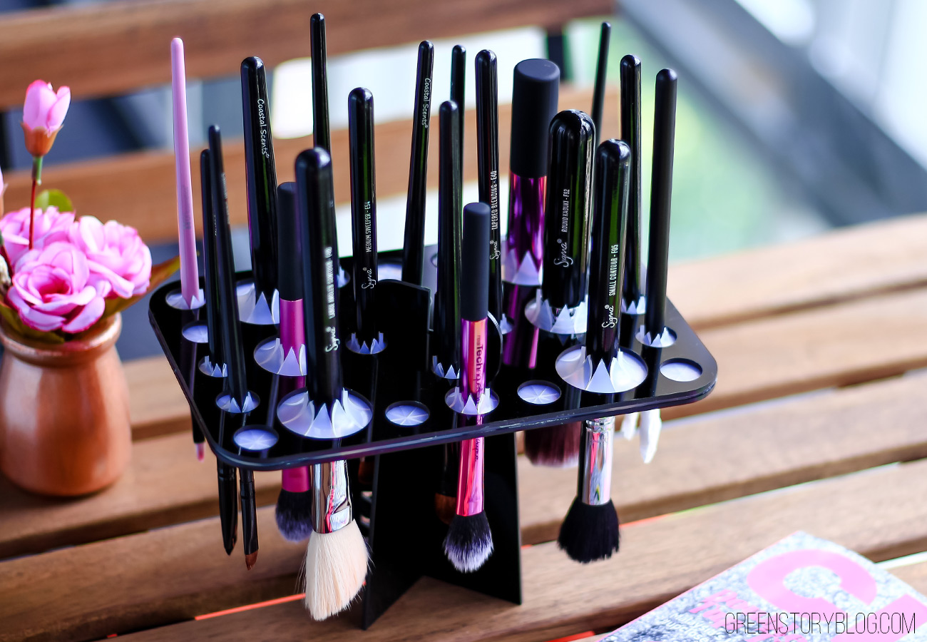 How to dry makeup brushes, cheap solution, sigma dry n shape tower dupe