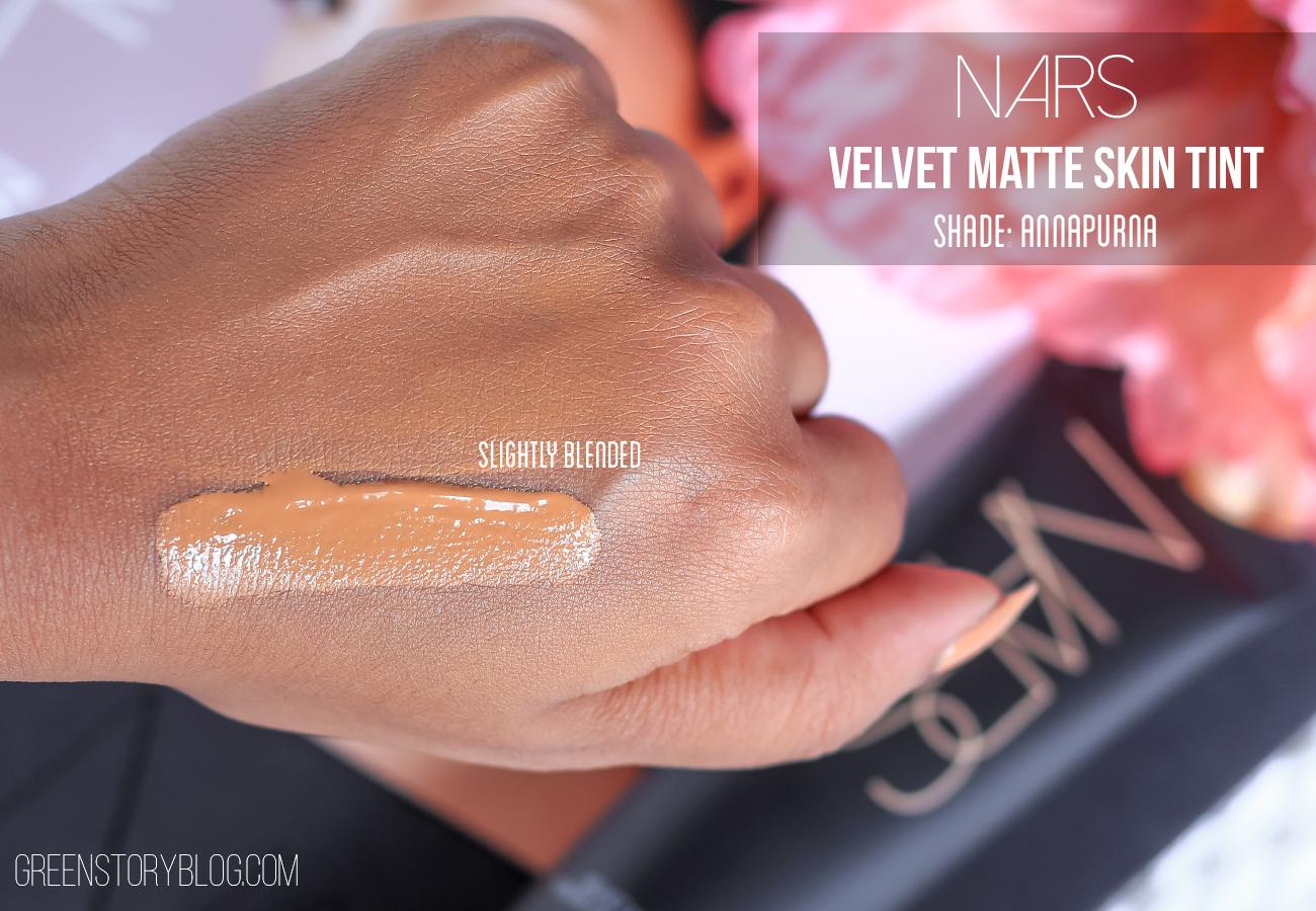 Nars Velvet Matte Skin Tint Swatch