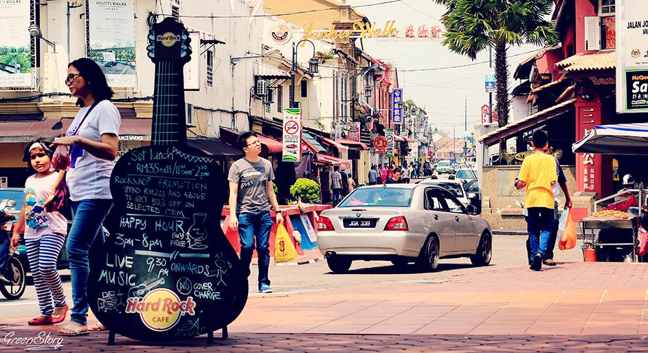 Travel in Melaka - Jonker Walk