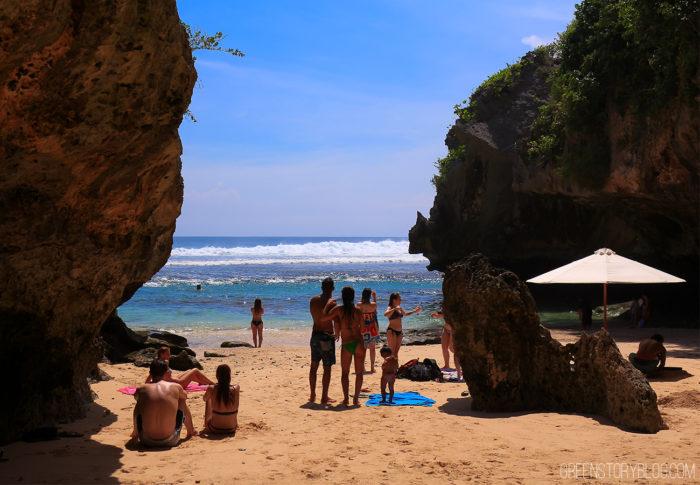 Blue Point Beach, Bali