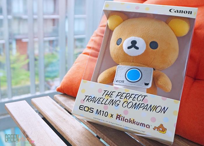 Canon EOS M10 x Rilakkuma