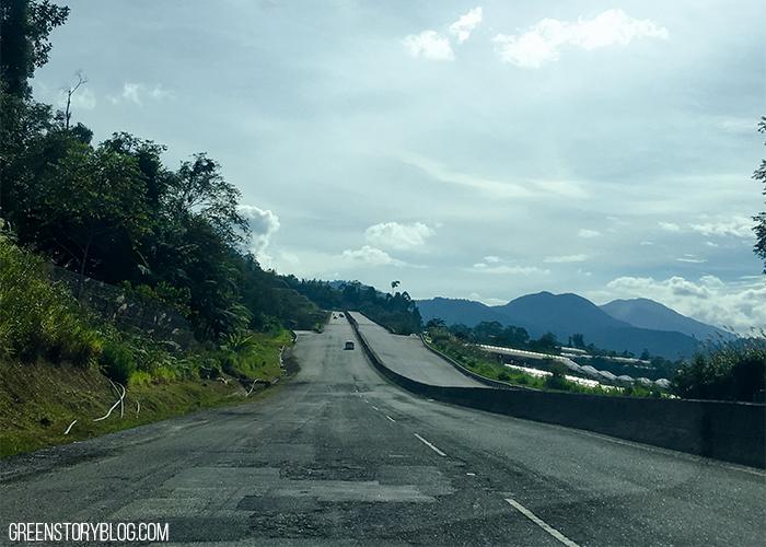 Cameron Highland Agro Tourism   Roads