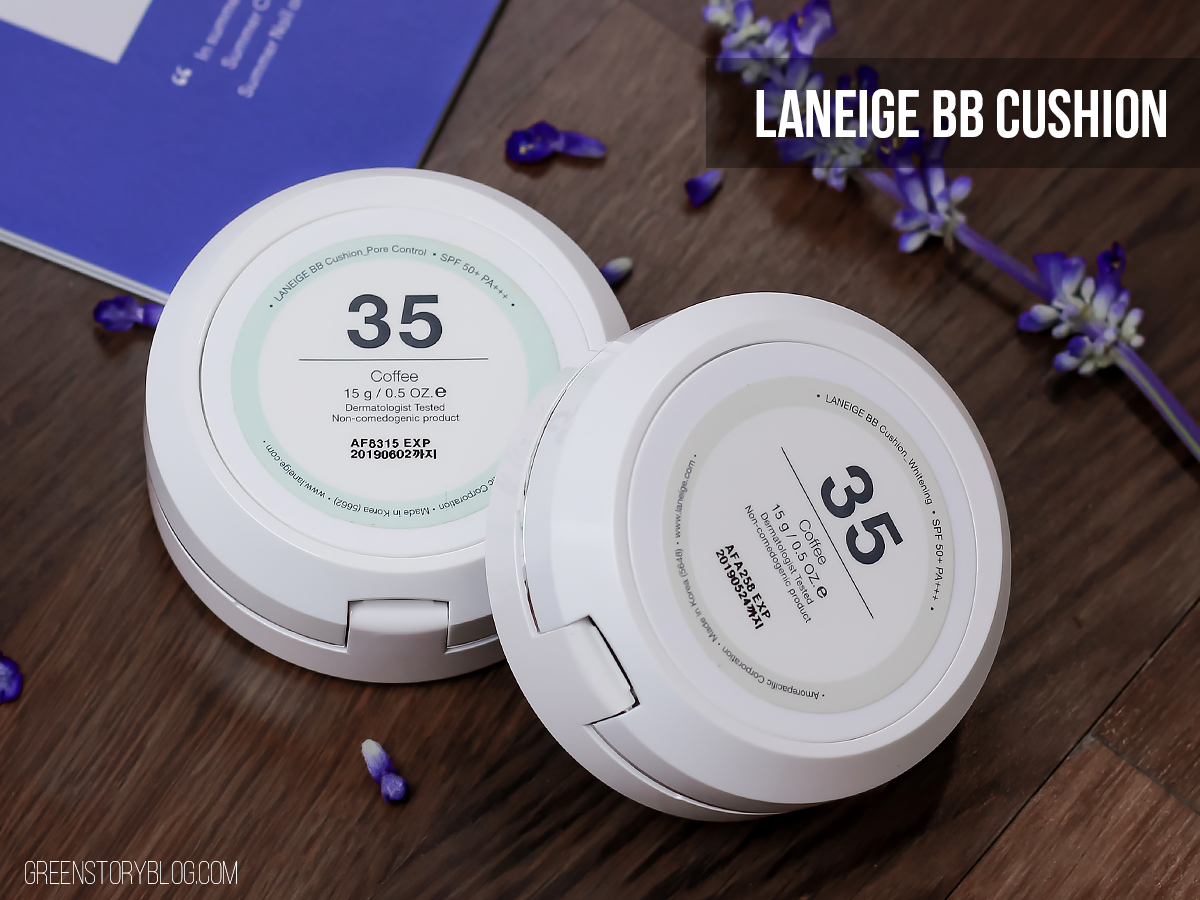 Laneige BB Cushion | Pore Control and Whitening