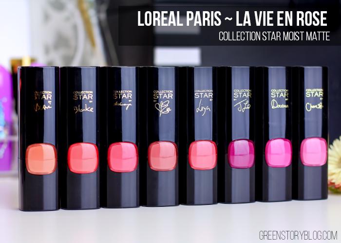 Loreal Paris La Vie En Rose | Moist Matte