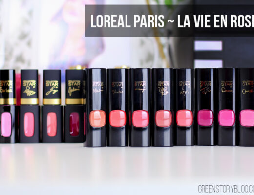 Loreal Paris La Vie En Rose Collection