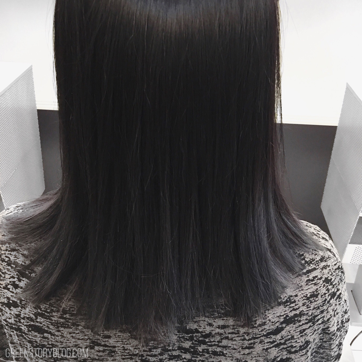 Gray Black Ombre Hair