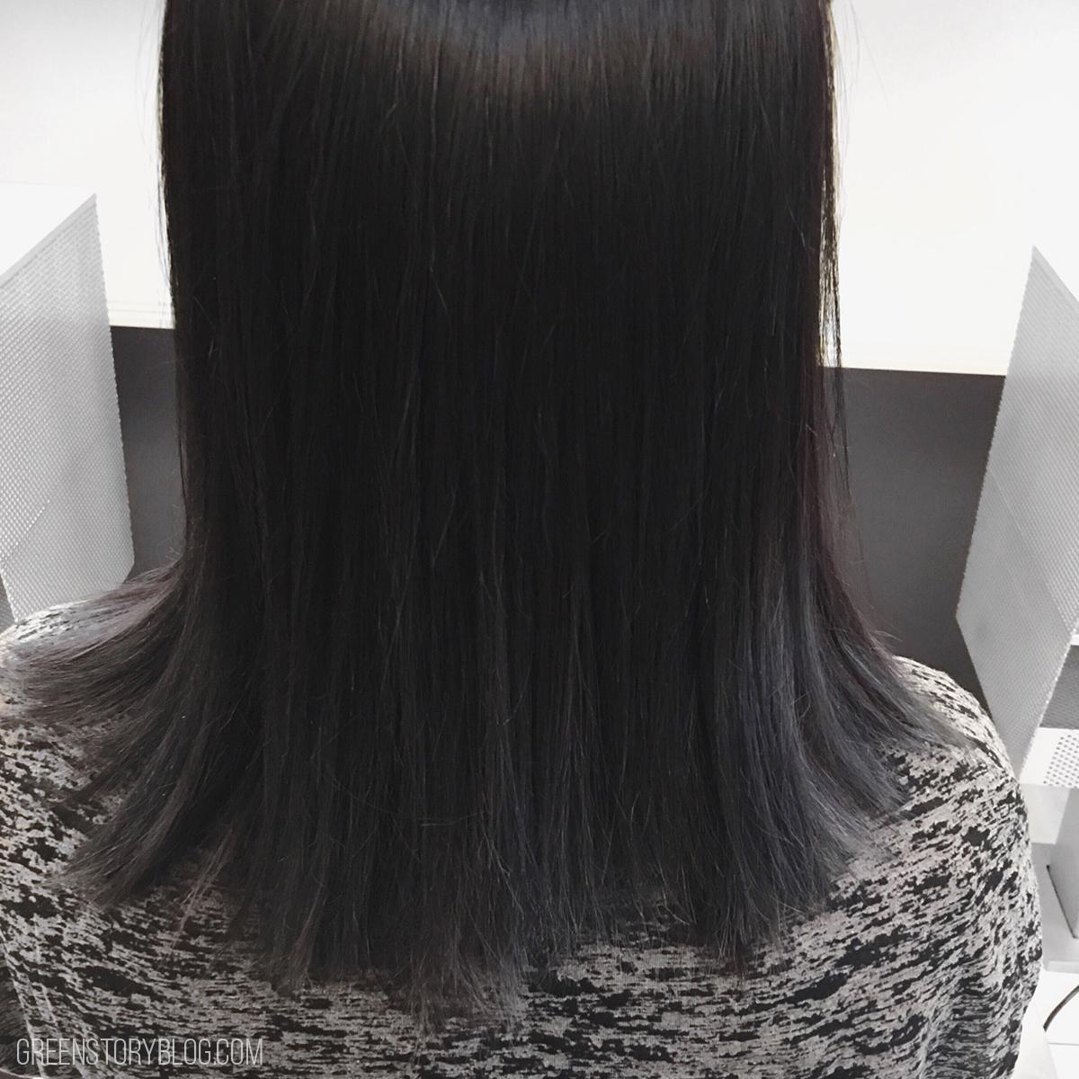 Gray Black Ombre Hair