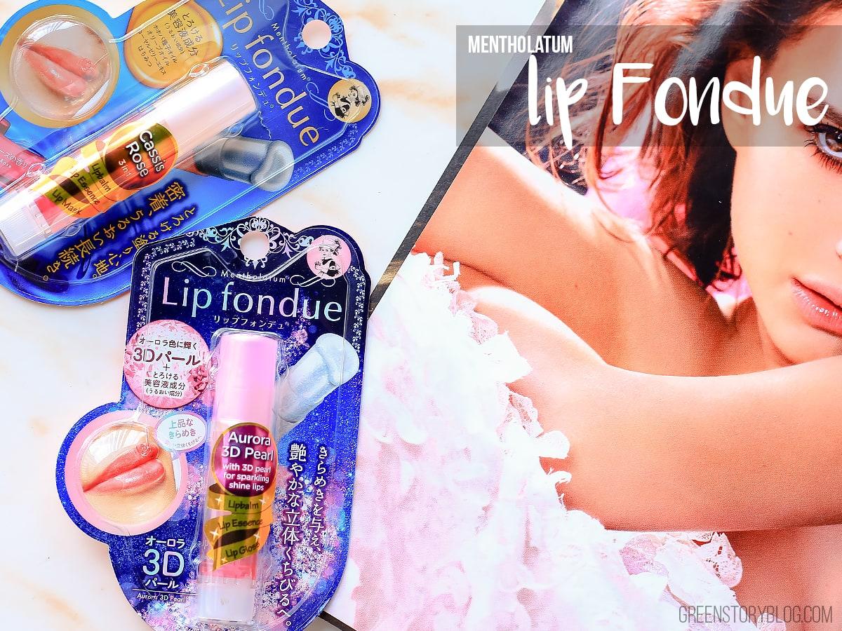 Easy To Use 3-in-1 Lipcare Solution   Mentholatum Lip Fondue